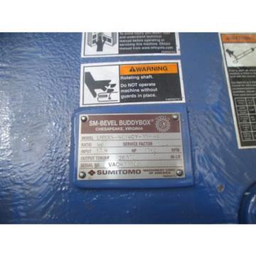 SUMITOMO SM BEVEL BUDDYBOX LHYXS-4C140Y-Y1 C FACE REDUCER HOLLOW OUTPUT