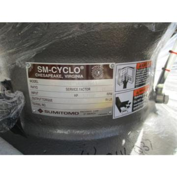 Sumitomo sm cyclo reducer CVJS6190DAY with oil pump