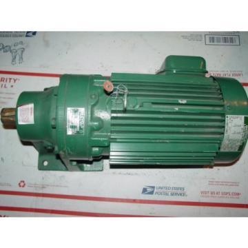 Sumitomo SM-Cyclo HM3100 1-1/2 hp 3ph Electric Motor 17:1 ratio 1-1/8#034; output