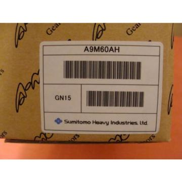 Origin OLD STOCK IN BOX SUMITOMO ASTERO A9M60AH INDUCTION GEAR MOTOR