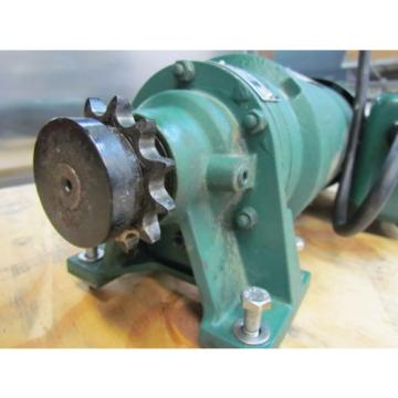 SUMITOMO; SM-CYCLO 1Ph Motor; Model S-TC-F; 1/3HP; 115/230 Volts; W/43:1 Ratio