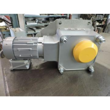 SUMITOMO RIGHTANGLE DRIVE 3 PH INDUCTION MOTOR TYPE TC-FX