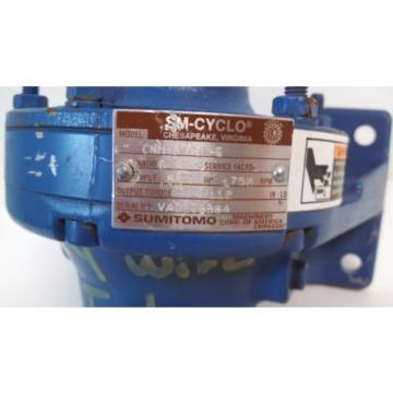 Origin OLD STOCK SM-CYCLO SUMITOMO 1750HP 55 INPUT MOTOR CNH-6075Y-6