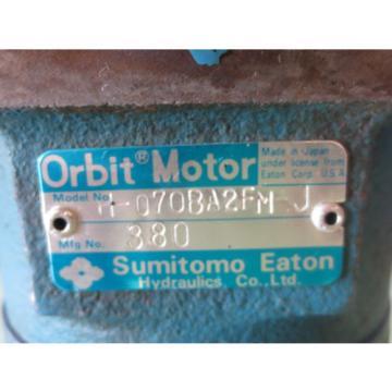 SUMITOMO EATON ORBIT MOTOR H-070BA2FM-J