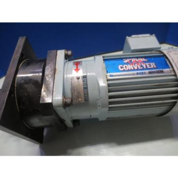 SUMITOMO INDUCTION MOTOR SPIRAL CONVEYER TC-FX 3 PHASE 02KW CNVM02-5085