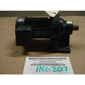 Sumitomo Cyclo gearmotor CNHM-05-4090YC-13, 135 rpm, 13:1, 5hp, 230/460,inline