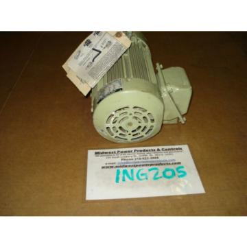 Sumitomo Cyclo gearmotor CNHMS-1-4105YC-29, 60 rpm, 29:1,1hp, 230/460, inline
