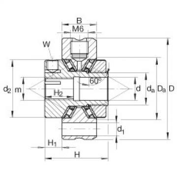 INA Original Complex Bearing ZAXFM0535 INA