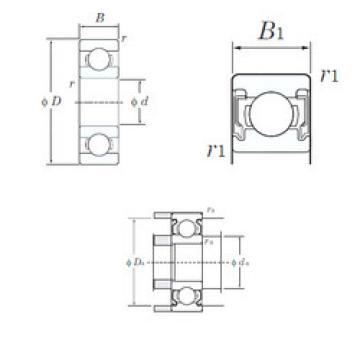 Original Ball Bearings W688-2RU KOYO
