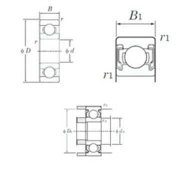 Original Ball Bearings W689-2RU KOYO