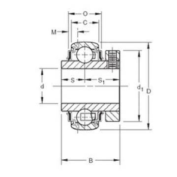 Bearing GC1107KRRB Timken