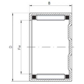 Bearing BK152314 ISO
