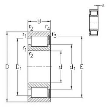 Bearing NCF2896-V NKE