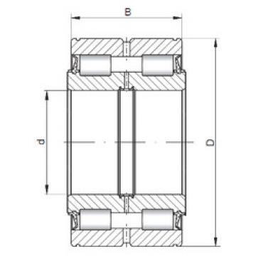 Cylindrical Roller Bearings NNF5004 V ISO