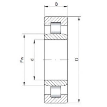 Bearing NU3322 ISO