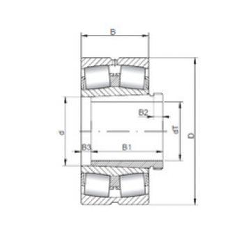 Bearing 240/750 K30CW33+AH240/750 ISO