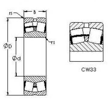 Bearing 21316CW33 AST