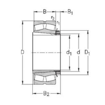 Spherical Roller Spherical Roller Bearing 239/670-K-MB-W33+OH39/670-H NKE