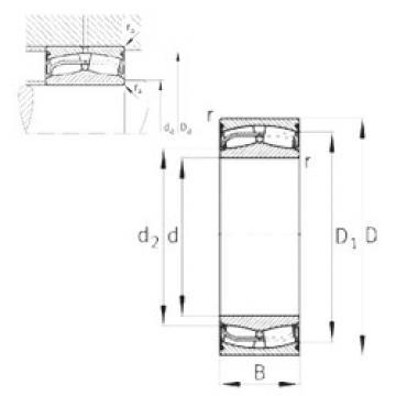 Bearing 24128-E1-2VSR-H40 FAG