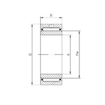 Needle Roller Bearings NKI95/26 ISO