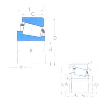 Tapered Roller Bearing XAD32010X/YKB32010X Timken