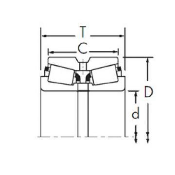 Bearing 637/632D+X1S-637 Timken