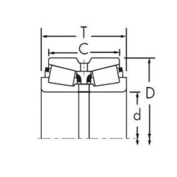 Bearing 797/792CD+X3S-797 Timken
