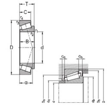 Tapered Roller Bearing 33012 NKE
