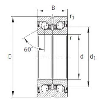 Thrust Bearings ZKLN3072-2Z INA