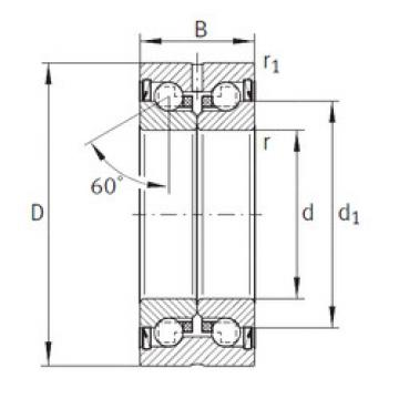 Thrust Bearings ZKLN4090-2Z INA