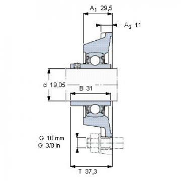 Bearing YAR 204-012-2FW/VA228 SKF