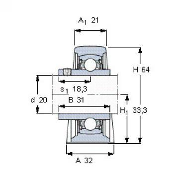 Bearing YAR 204-2FW/VA201 SKF