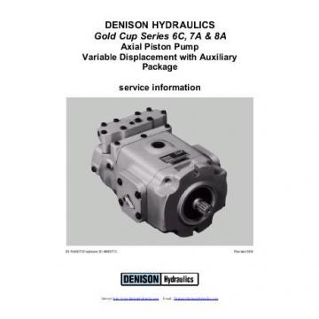 Dension Canada gold cup piston pump P30R-8L5E-9A2-A0X-B0