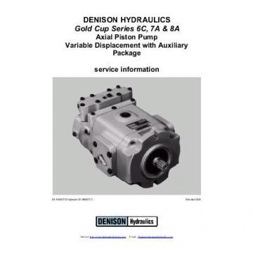 Dension Canada gold cup piston pump P30R-8R1E-9A6-B0X-E0