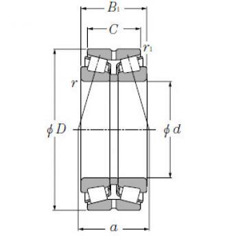Bearing M276449/M276410DG2+A