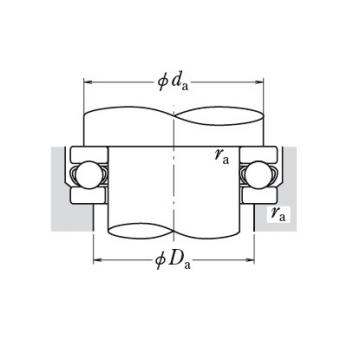 SINGLE-DIRECTION BEARINGS 51268X