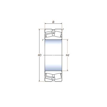 23012SWRCg2E4 NSK Spherical Roller Bearings