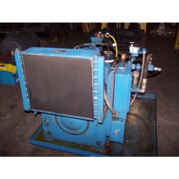 VICKERS Brazil  15 HP HYDRAULIC POWER UNIT 30 GALLON 3000 PSI PVQ20-B2R-SE1S-21