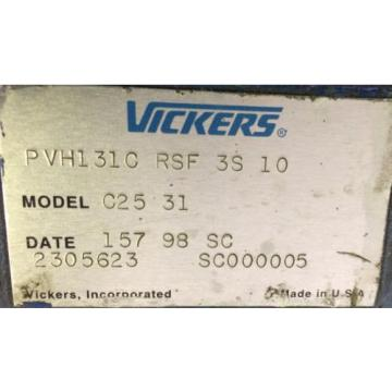Rebuilt Suriname  Vickers PVH131C RSF 3S 10 MODEL C25 31 W/ WARRANTY