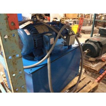 Vickers Cuinea  15hp hydraulic pump w/tank, 411AK00079A, PSSCA1060P045DX, Eaton System