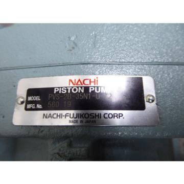 Origin Uganda NACHI PISTON PUMP PVS-2B-35N1-U-12