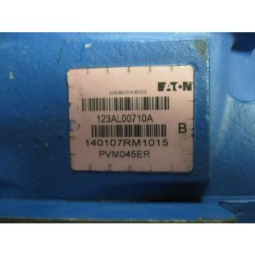 Origin Andorra  EATON VICKERS PISTON PUMP # PVM045ER # 123AL00710A