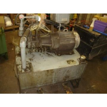 Vickers Belarus  V201P11P Hydraulic Power Unit 10 HP 205 amp; 4 GPM