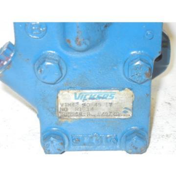 VICKERS Andorra VTM42 20 45 17 N0 R1 14 USED HYDRAULIC PUMP VTM42204517N0R114