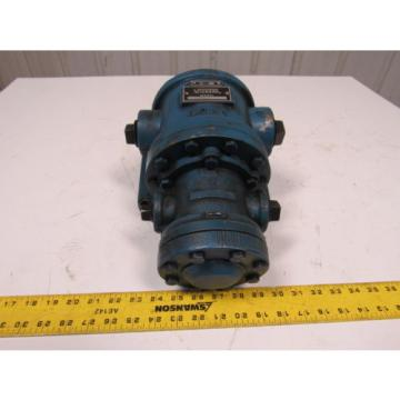 Vickers Solomon Is  F3 V138UE20 Intermediate Series Vane Type Double Pump 23GPM Foot Mount