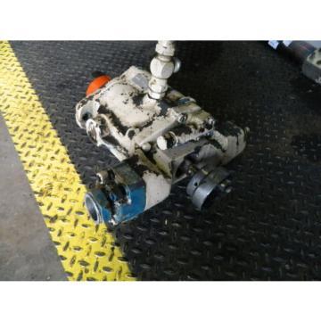 Vickers Cuba Hydraulic Piston Pump, PVB29 RS 20 CM 11, PVB29 RS FX20 CM 11, Used