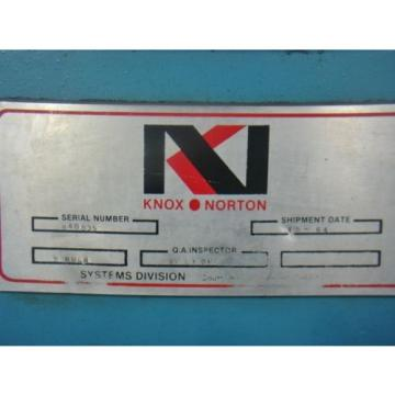 1hp Liberia  300psi Knox/norton hydraulic power supply VICKERS V101P5P1020 GE 5KC47UG694