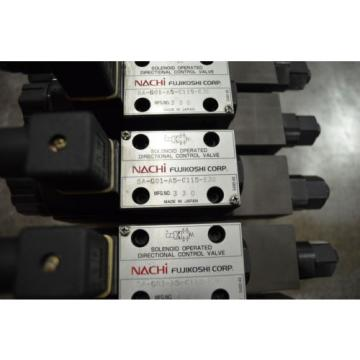 Nachi Cook Is.  Hydraulic Solenoid Valve