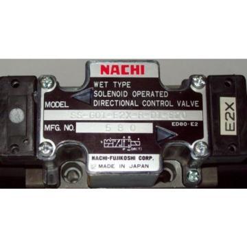 D03 Paraguay 4 Way 4/2 Hydraulic Solenoid Valve i/w Vickers DG4V-3-?N-WL-G 12 VDC E2X