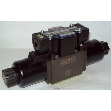 D03 Suriname  4 Way Shockless Hydraulic Solenoid Valve i/w Vickers DG4V-3-6C-WL-200V 200 V